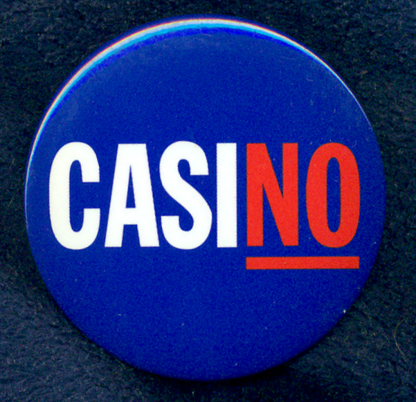 CasiNO Button
