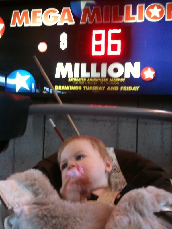 Lottery versus Baby