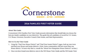 2016 Families First Voter Guide