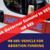 Ask Governor Sununu to VETO HB 685, the Abortion Insurance Mandate
